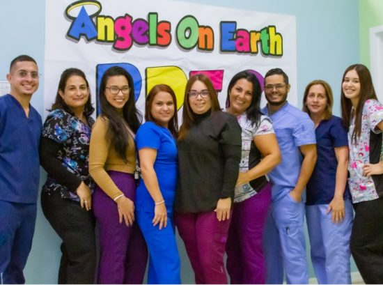 Team photo of the staff of Angels on Earth PPEC